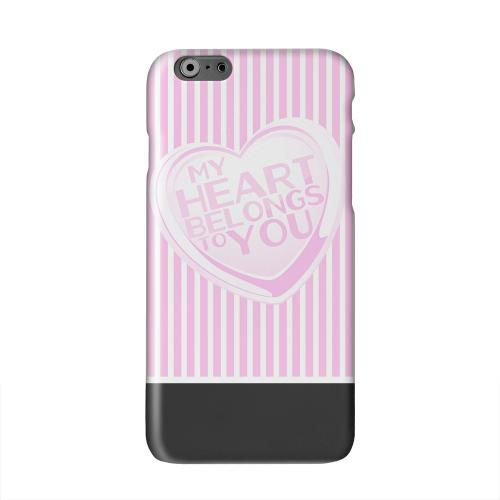 My Heart Solid White Hard Case Cover for Apple iPhone 6 PLUS/6S PLUS (5.5 inch)