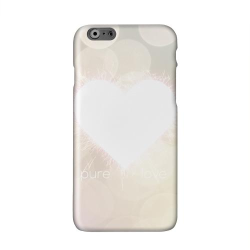 Pure Love Solid White Hard Case Cover for Apple iPhone 6 PLUS/6S PLUS (5.5 inch)