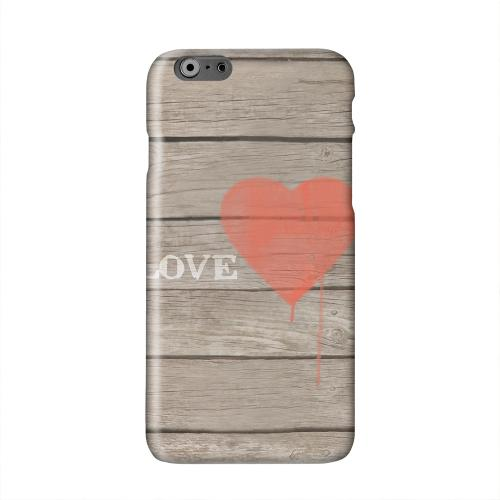 Rustic Love Solid White Hard Case Cover for Apple iPhone 6 PLUS/6S PLUS (5.5 inch)