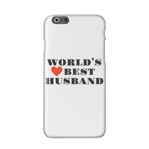 World's Best Husband Solid White Hard Case Cover for Apple iPhone 6 PLUS/6S PLUS (5.5 inch)
