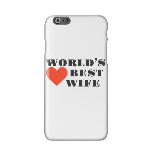 World's Best Wife Solid White Hard Case Cover for Apple iPhone 6 PLUS/6S PLUS (5.5 inch)