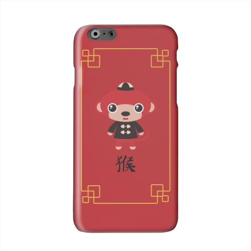 Chibi Monkey Solid White Hard Case Cover for Apple iPhone 6 PLUS/6S PLUS (5.5 inch)