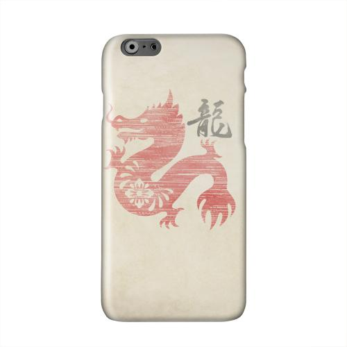 Grunge Dragon Solid White Hard Case Cover for Apple iPhone 6 PLUS/6S PLUS (5.5 inch)