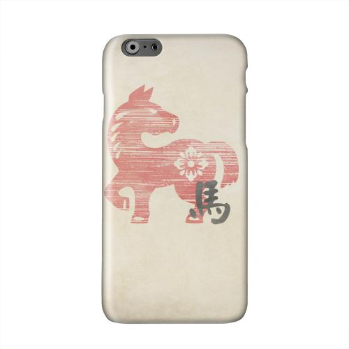 Grunge Horse Solid White Hard Case Cover for Apple iPhone 6 PLUS/6S PLUS (5.5 inch)