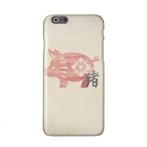 Grunge Pig Solid White Hard Case Cover for Apple iPhone 6 PLUS/6S PLUS (5.5 inch)