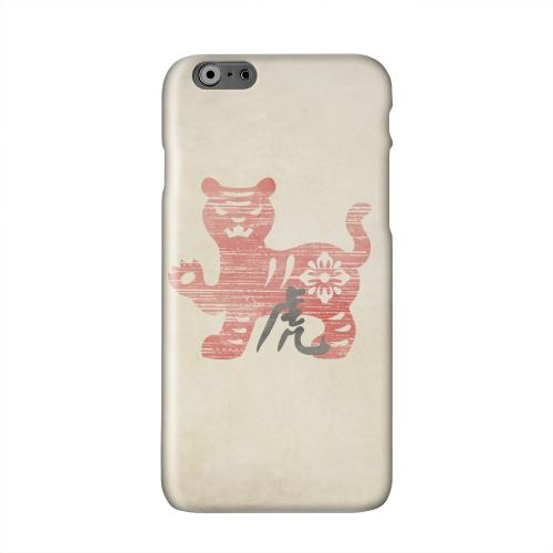 Grunge Tiger Solid White Hard Case Cover for Apple iPhone 6 PLUS/6S PLUS (5.5 inch)