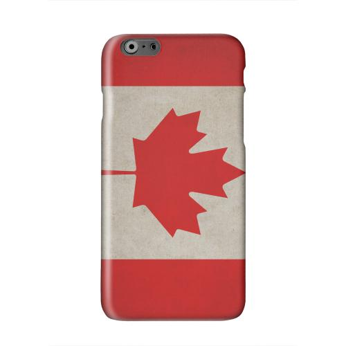 Grunge Canada Solid White Hard Case Cover for Apple iPhone 6 PLUS/6S PLUS (5.5 inch)