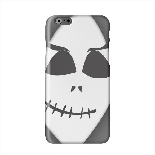 Grinning Grim Reaper Solid White Hard Case Cover for Apple iPhone 6 PLUS/6S PLUS (5.5 inch)
