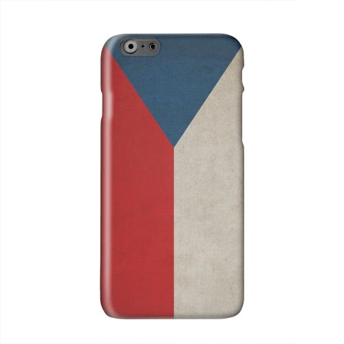 Grunge Czech Republic Solid White Hard Case Cover for Apple iPhone 6 PLUS/6S PLUS (5.5 inch)