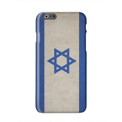 Grunge Israel Solid White Hard Case Cover for Apple iPhone 6 PLUS/6S PLUS (5.5 inch)