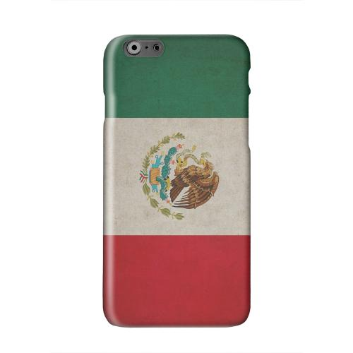 Grunge Mexico Solid White Hard Case Cover for Apple iPhone 6 PLUS/6S PLUS (5.5 inch)