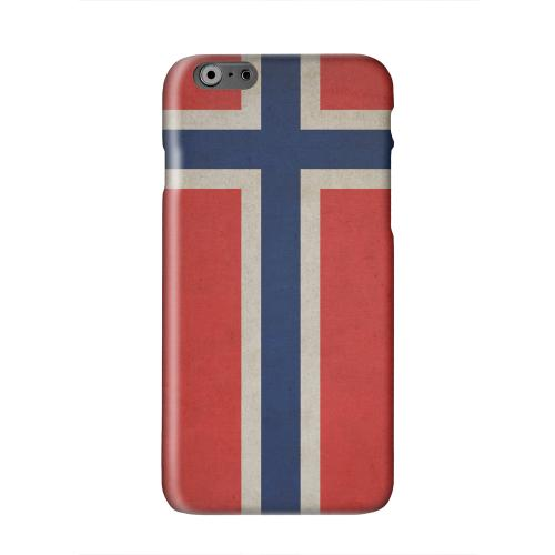 Grunge Norway Solid White Hard Case Cover for Apple iPhone 6 PLUS/6S PLUS (5.5 inch)