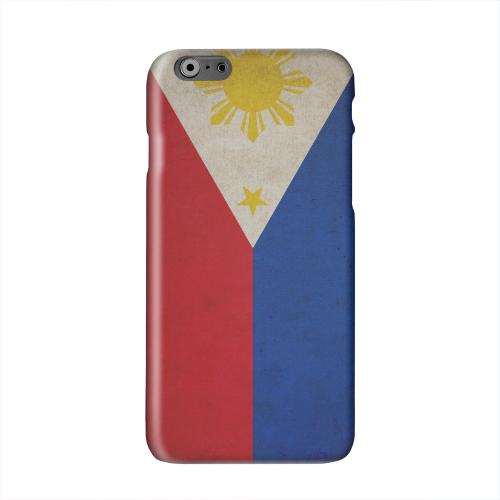 Grunge Philippines Solid White Hard Case Cover for Apple iPhone 6 PLUS/6S PLUS (5.5 inch)