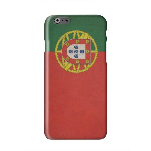 Grunge Portugal Solid White Hard Case Cover for Apple iPhone 6 PLUS/6S PLUS (5.5 inch)