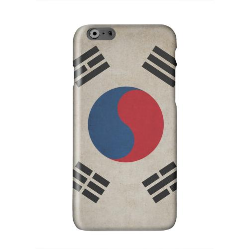 Grunge South Korea Solid White Hard Case Cover for Apple iPhone 6 PLUS/6S PLUS (5.5 inch)