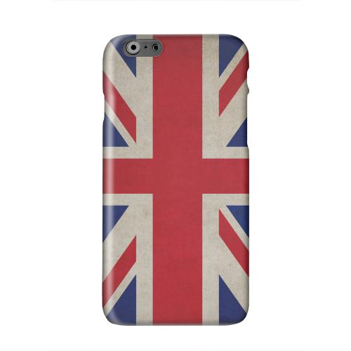 Grunge United Kingdom Solid White Hard Case Cover for Apple iPhone 6 PLUS/6S PLUS (5.5 inch)