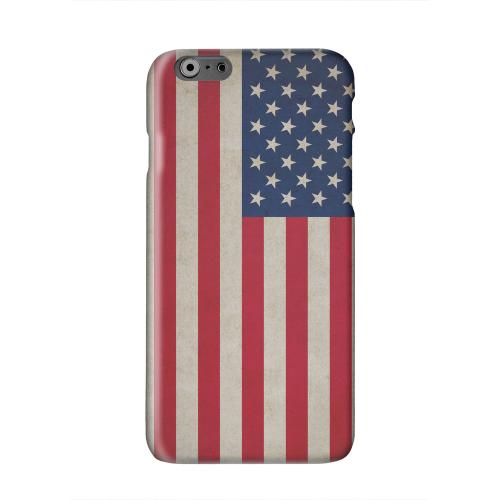 Grunge United States Solid White Hard Case Cover for Apple iPhone 6 PLUS/6S PLUS (5.5 inch)