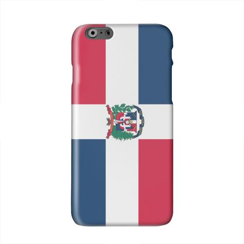 Dominican Republic Solid White Hard Case Cover for Apple iPhone 6 PLUS/6S PLUS (5.5 inch)