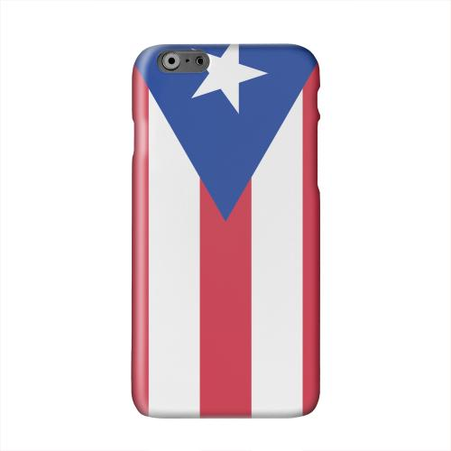 Puerto Rico Solid White Hard Case Cover for Apple iPhone 6 PLUS/6S PLUS (5.5 inch)