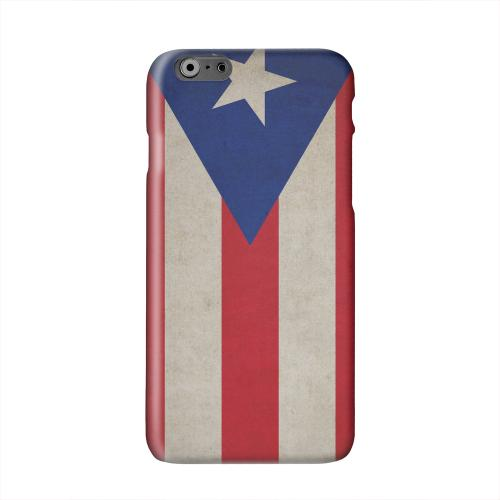 Grunge Puerto Rico Solid White Hard Case Cover for Apple iPhone 6 PLUS/6S PLUS (5.5 inch)