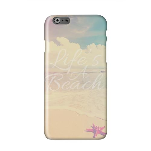 Life's A Beach Solid White Hard Case Cover for Apple iPhone 6 PLUS/6S PLUS (5.5 inch)
