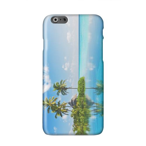 Tropical Paradise Solid White Hard Case Cover for Apple iPhone 6 PLUS/6S PLUS (5.5 inch)