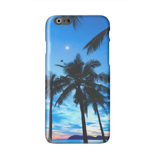 Tropical Sunset Solid White Hard Case Cover for Apple iPhone 6 PLUS/6S PLUS (5.5 inch)