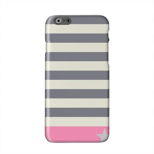 Bars & Stripes Forever Solid White Hard Case Cover for Apple iPhone 6 PLUS/6S PLUS (5.5 inch)