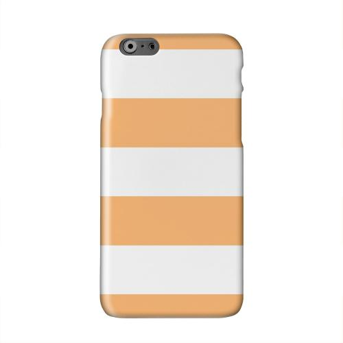 Big Orange Solid White Hard Case Cover for Apple iPhone 6 PLUS/6S PLUS (5.5 inch)