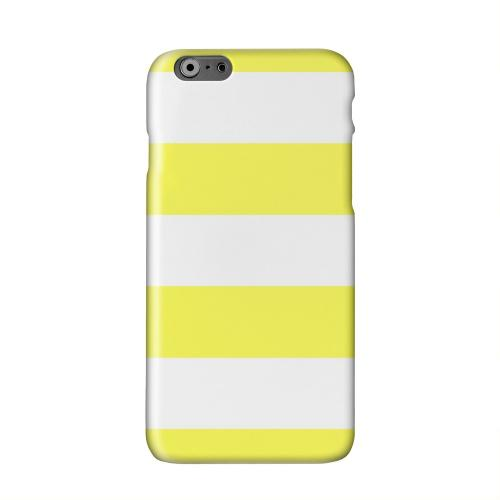 Big Yellow Solid White Hard Case Cover for Apple iPhone 6 PLUS/6S PLUS (5.5 inch)