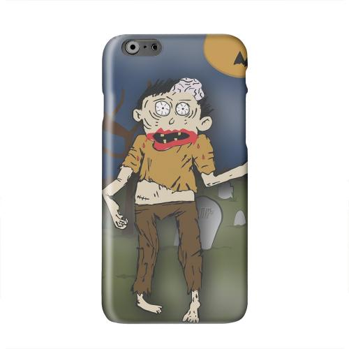Zombie in Graveyard Solid White Hard Case Cover for Apple iPhone 6 PLUS/6S PLUS (5.5 inch)