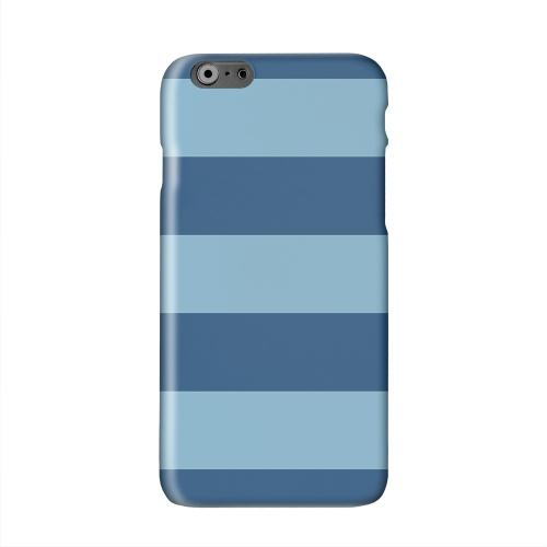Monaco Blue/ Dusk Blue Solid White Hard Case Cover for Apple iPhone 6 PLUS/6S PLUS (5.5 inch)