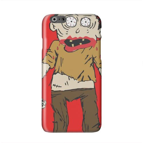Zombie on Red Solid White Hard Case Cover for Apple iPhone 6 PLUS/6S PLUS (5.5 inch)