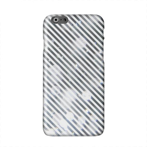 Thin Shimmer Diagonal Solid White Hard Case Cover for Apple iPhone 6 PLUS/6S PLUS (5.5 inch)