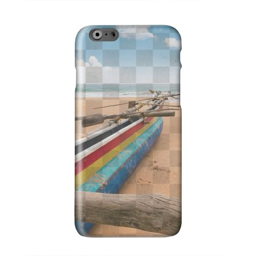 Beach Bum Solid White Hard Case Cover for Apple iPhone 6 PLUS/6S PLUS (5.5 inch)
