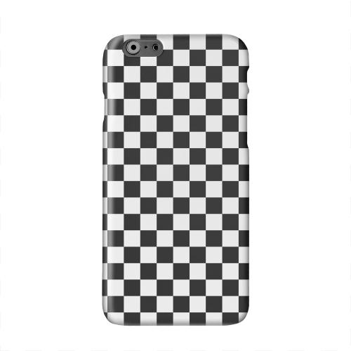 Black/ White Solid White Hard Case Cover for Apple iPhone 6 PLUS/6S PLUS (5.5 inch)