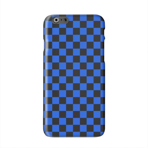 Blue/ Black Solid White Hard Case Cover for Apple iPhone 6 PLUS/6S PLUS (5.5 inch)