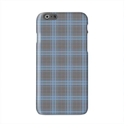 Blue/ Gray/ Pink Plaid Solid White Hard Case Cover for Apple iPhone 6 PLUS/6S PLUS (5.5 inch)