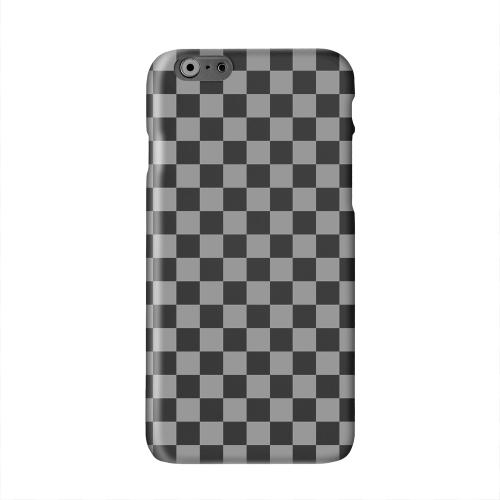 Gray/ Black Solid White Hard Case Cover for Apple iPhone 6 PLUS/6S PLUS (5.5 inch)