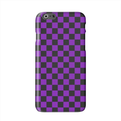 Purple/ Black Solid White Hard Case Cover for Apple iPhone 6 PLUS/6S PLUS (5.5 inch)