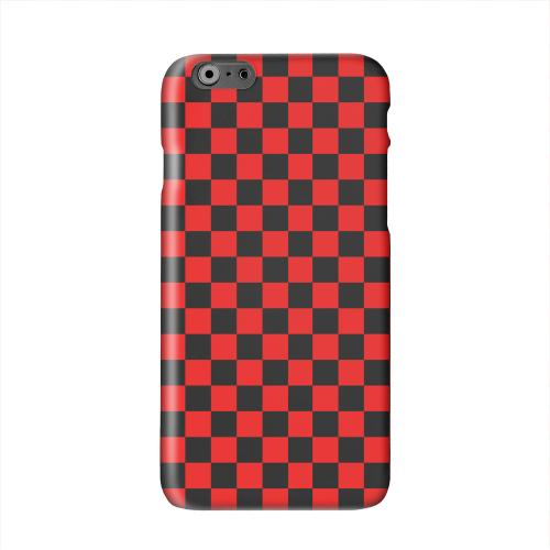 Red/ Black Solid White Hard Case Cover for Apple iPhone 6 PLUS/6S PLUS (5.5 inch)