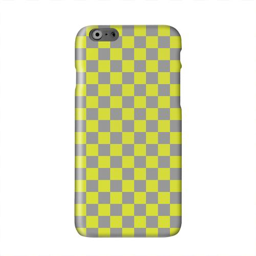 Yellow/ Gray Solid White Hard Case Cover for Apple iPhone 6 PLUS/6S PLUS (5.5 inch)