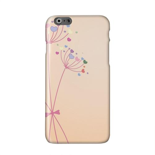 Dandelion Hearts Solid White Hard Case Cover for Apple iPhone 6 PLUS/6S PLUS (5.5 inch)