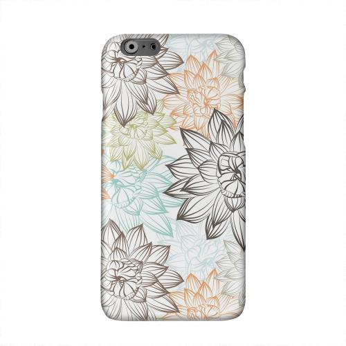 Floral Explosion Solid White Hard Case Cover for Apple iPhone 6 PLUS/6S PLUS (5.5 inch)