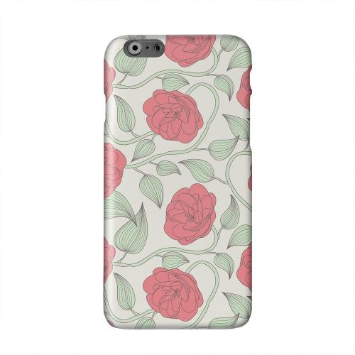 Roses & Vines Solid White Hard Case Cover for Apple iPhone 6 PLUS/6S PLUS (5.5 inch)