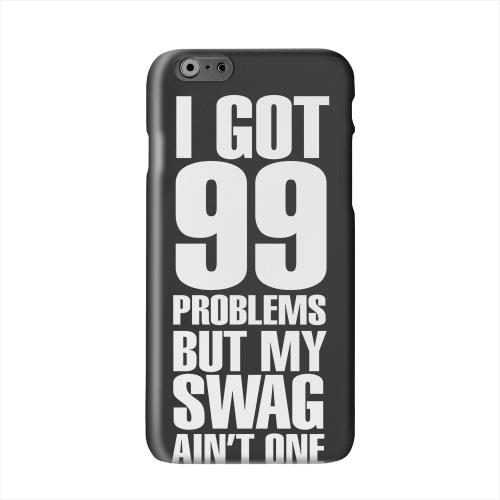 99 Problems on Black Solid White Hard Case Cover for Apple iPhone 6 PLUS/6S PLUS (5.5 inch)