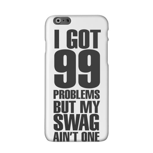 99 Problems on White Solid White Hard Case Cover for Apple iPhone 6 PLUS/6S PLUS (5.5 inch)