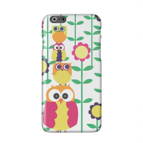 Colorful Owl Tower Solid White Hard Case Cover for Apple iPhone 6 PLUS/6S PLUS (5.5 inch)