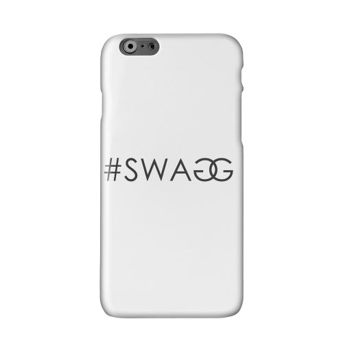 #Swaggy Solid White Hard Case Cover for Apple iPhone 6 PLUS/6S PLUS (5.5 inch)