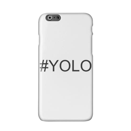 #YOLO Solid White Hard Case Cover for Apple iPhone 6 PLUS/6S PLUS (5.5 inch)